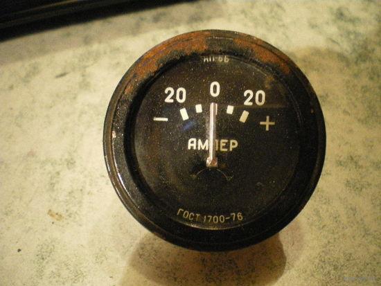 Амперметр +/-20А.