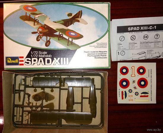 1/72 Revell Spad XIII самолет Первой мировой войны