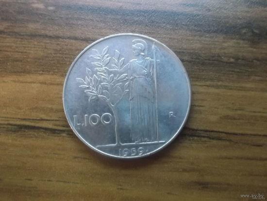 Италия 100 лир 1959_1