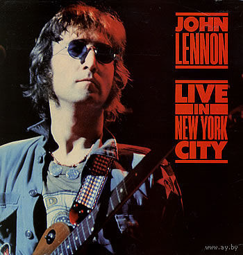 John Lennon  -  Live In New York City - LP - 1986