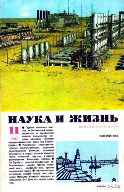 """Журнал """"Наука и жизнь"""", 1982, #11"""