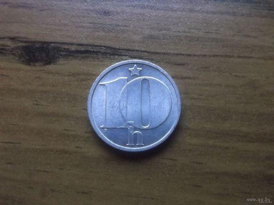 Чехословакия 10 геллеров 1989