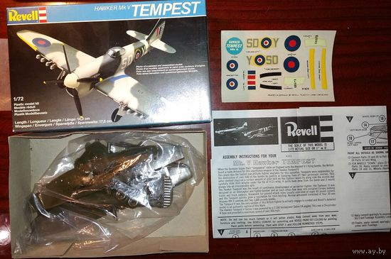 1/72 Revell Hawker Tempest