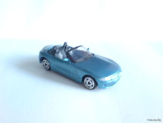 Bmw  z4  1\54 кабриолет. голубой перламутр. металл расспродажа коллекции