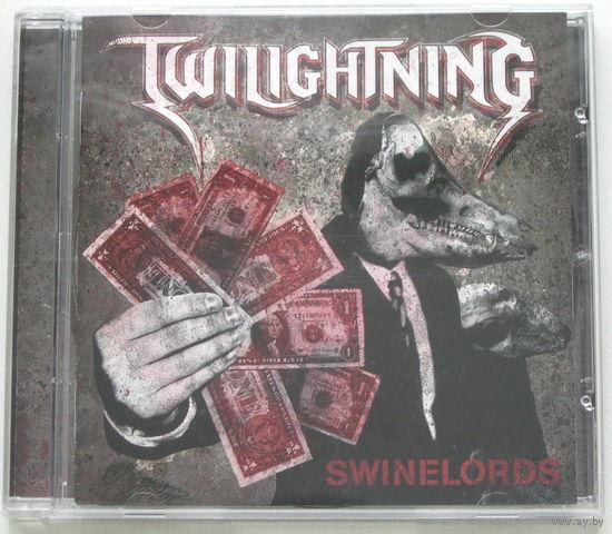 Twilightning - Swinelords CD (лицензия) [Power Metal]