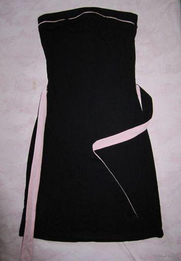 Платье-бандо, по фигуре, р.42. НОВОЕ