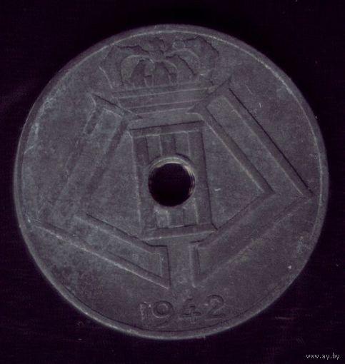 10 сантимов 1942 год Бельгия