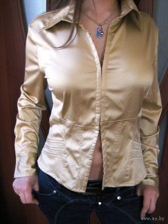 Золотая -на крючках-блуза! р.46-48