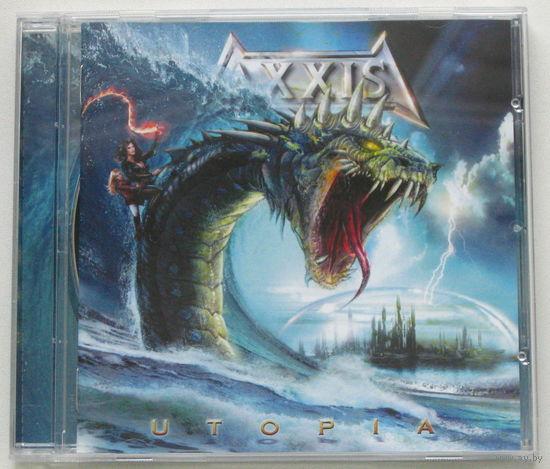 Axxis - Utopia CD (лицензия) [Melodic/Power Metal]