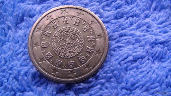 Португалия 50 центов 2002г распродажа