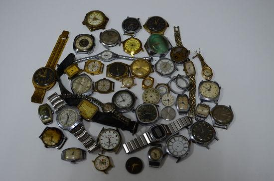 Сборный лот часов с 1 рубля