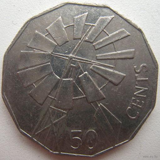 Австралия 50 центов 2002 г. Год отдаленных районов Австралии