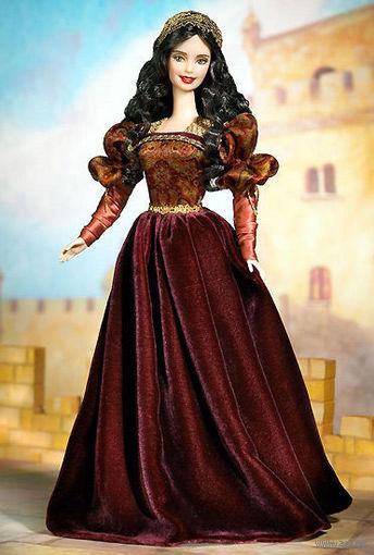 Кукла Барби_Barbie Princess of the Portugese Empire _2002_год_Коллекционный выпуск, серия Dolls of the World: The Princess_НОВАЯ_В упаковке!