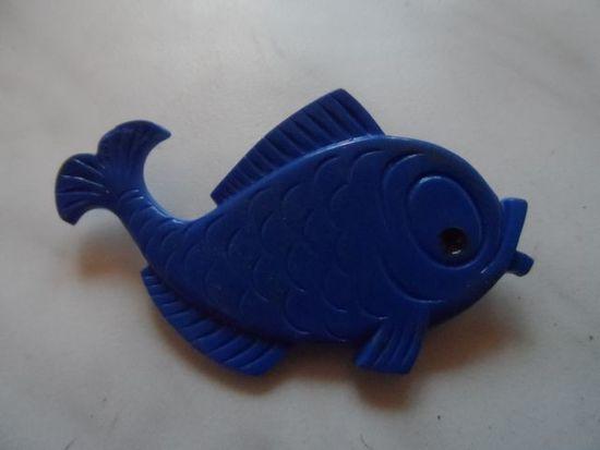 Значок-рыбка