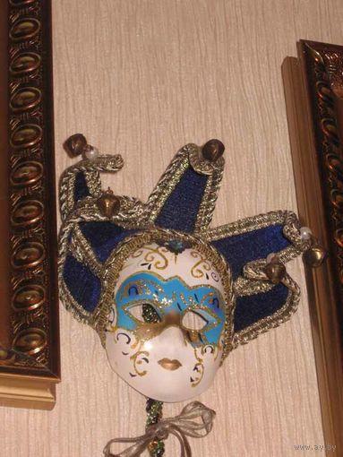 """Сувенирная Венецианская маска, оригинальная """"Флоренция""""."""