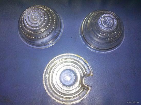 Стекла переднего подфарника ПФ10 + стекло подфарника ПФ3, ПФ5