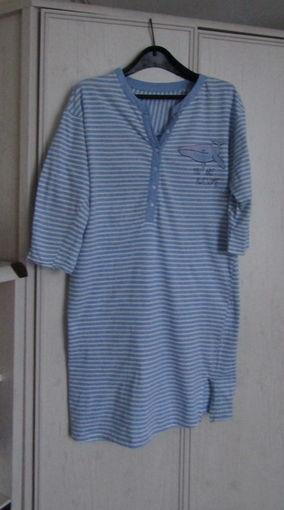 Почти даром! Домашнее платье . Ночная сорочка  Р-р 50 Хлопок 5