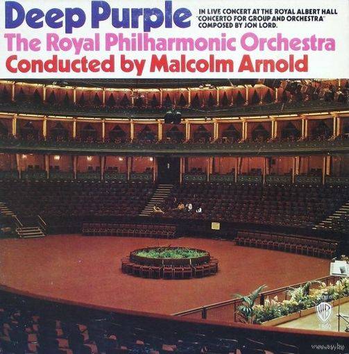 Deep Purple, Royal Philharmonic Orchestra - Concerto For Group And Orchestra - LP - 1970