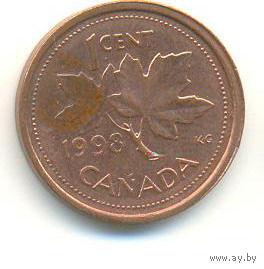Канада 1 цент 1998 год   распродажа