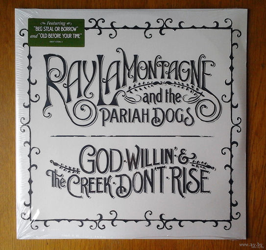 "Ray LaMontagne and the Pariah Dogs ""God Willin' & The Creek Don't Rise"" 2LP, 2010"