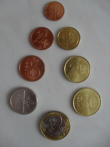 Беларусь, комплект монет обр. 2009 года
