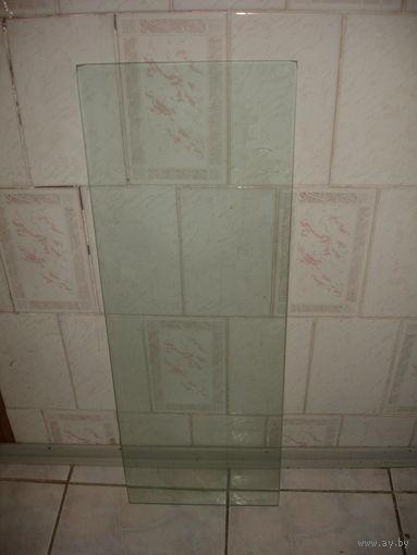 Полка стекло оригинальная 30см х 85см  6 мм