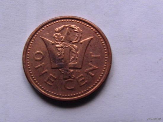 Барбадос 1цент 2000г.   распродажа