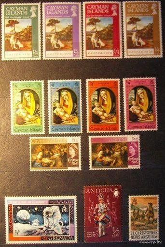 Британские колонии. Лот 41. 13 марок