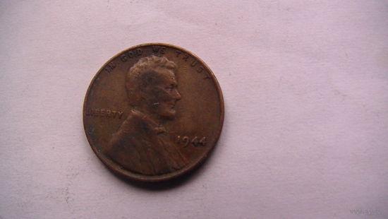 США 1 цент 1944г  распродажа