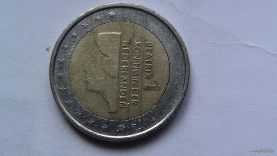 Нидерланды 2 евро 2002г распродажа