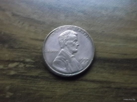 США 1 cent 1999 d