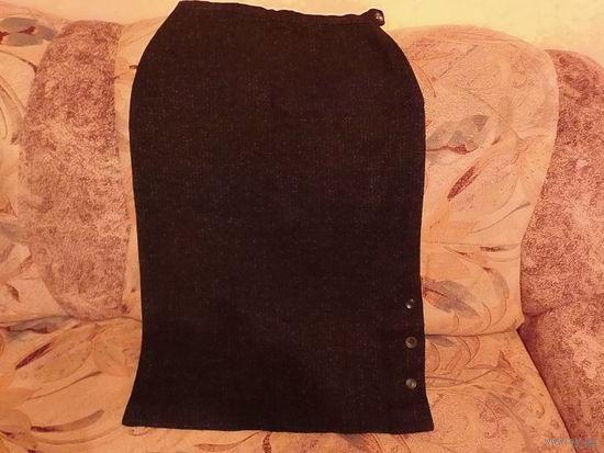 Тёплая шерстяная юбка р-р46-48 Германия