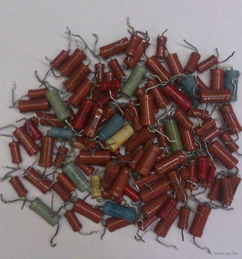 Резисторы 1-2Вт.Цена за все.