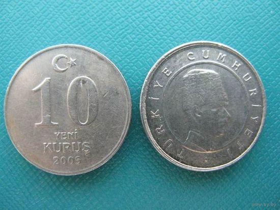 Турция  10 куруш  2005