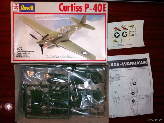 1/72 Revell Curtiss P-40E Warhawk