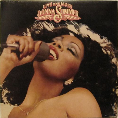 Donna Summer - Live And More - 2LP - 1978