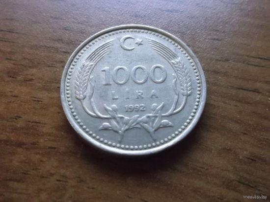Турция 1000 лир 1992