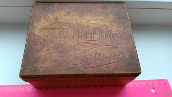 Старая деревянная шкатулка Минск