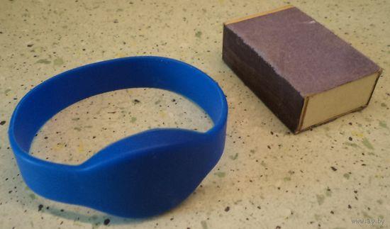 Силиконовый RFID браслет с картой контроля доступа, новый