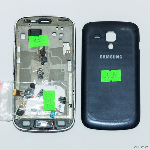 51 Samsung S Duos (GT-S7562). По запчастям, разборка