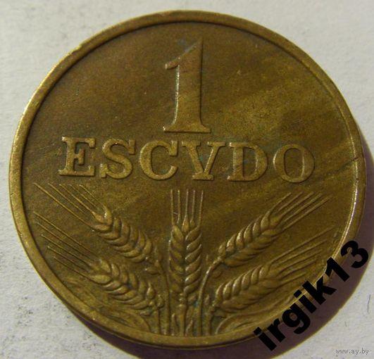 1 эскудо 1975 год Португалия