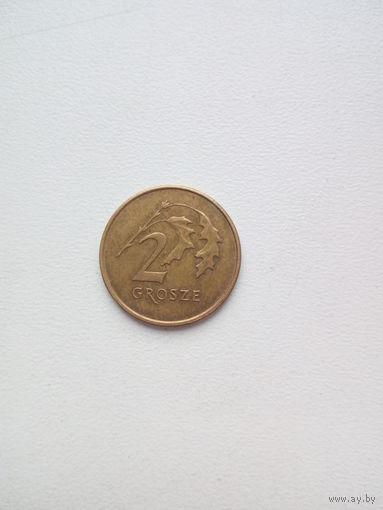 2 гроша 2009г. Польша.