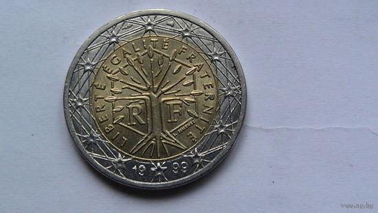 Франция 2 евро 1999г распродажа