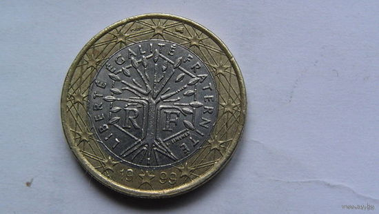 Франция 1 евро 1999г распродажа