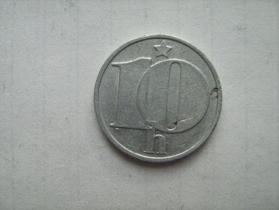 Чехословакия 10геллеров1975г.