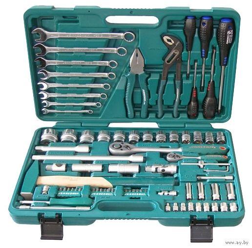 Набор инструментов Jonnesway S04H52477S 77 предметов.