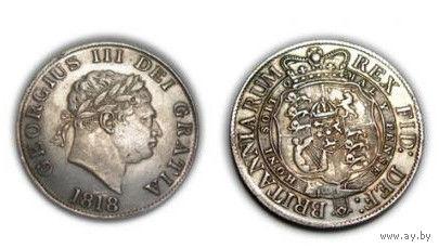 Англия Великобритания Georgius III 1818 копия РЕДКАЯ