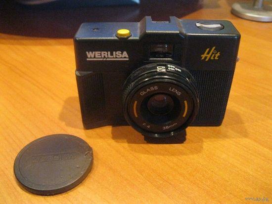 "Старый плёночный фотоаппарат ""WERLISA Hit"", Испания."