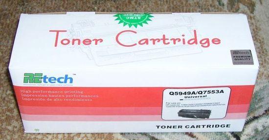 Q5949A/Q7553A Картридж для HP LaserJet 1160/1320/1320N/P2015/P20 15N/P2015X и др.