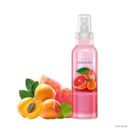 Лосьон-спрей для тела с ароматом розового грейпфрута и абрикоса 100 мл